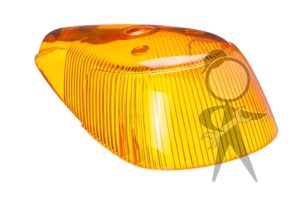 Lens, Turn Signal, Amber - 113-953-161 A