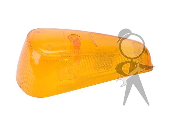 Lens, Turn Signal, Amber, Left - 113-953-161 B