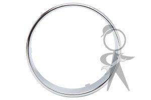 Trim Ring on Dash Face, Speedo, Chrome - 113-957-371 CR