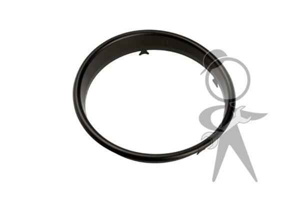 Trim Ring on Dash Face, Speedo, Black - 113-957-371 E BK