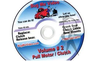 BUG ME DVD Vol 2, Pull Motor/Clutch - 113-BMD-002