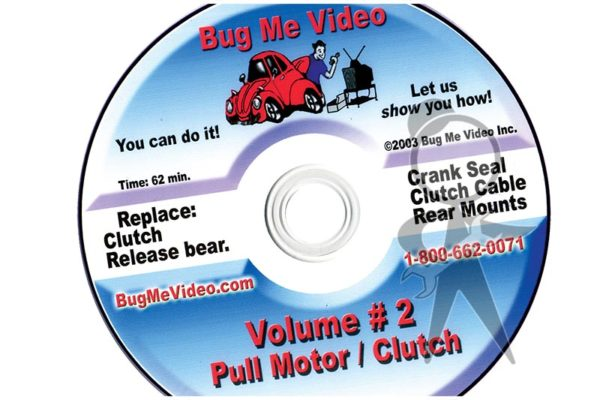 BUG ME DVD Vol 2, Pull Motor/Clutch - 113-BMD-002