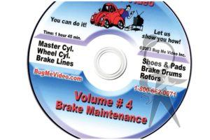 BUG ME DVD Vol 4, Brake Maintenance - 113-BMD-004