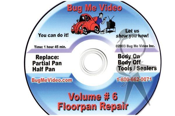 BUG ME DVD Vol 6, Floorpan Repair - 113-BMD-006