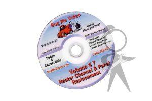 BUG ME DVD Vol 7, Heater Chnl & Pnl Repl - 113-BMD-007