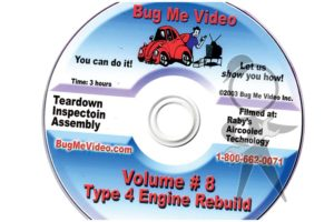 BUG ME DVD Vol 8, Type 4 Engine Rebuild - 113-BMD-008