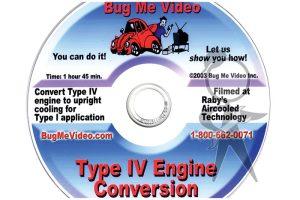 BUG ME DVD, Type 4 Engine Conversion - 113-BMD-T4C