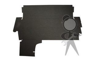 Trunk Liner, Black Hardboard, Upper - 133-863-507 GR