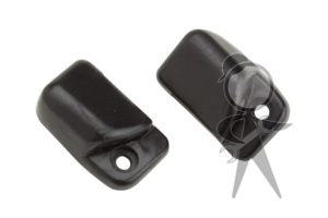 Sun Visor Clips, Pair, Black - 133-898-561 BKPR