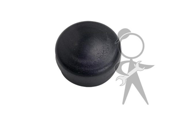 Cap for Nut, Wiper Arm-to-Shaft, Black - 133-955-435