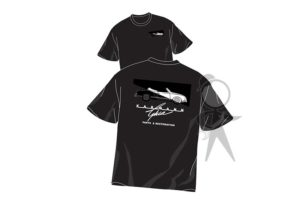 T-Shirt, KGPR Logo, Large, Black - 141-002-100 LGBK