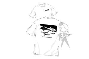 T-Shirt, KGPR Logo, Medium, White - 141-002-100 MDWH