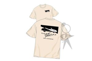 T-Shirt, KGPR Logo, Xtra Large, Black - 141-002-100 XLST