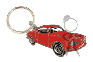 Karmann Ghia Car Key Chain, Red - 141-005-502 RD