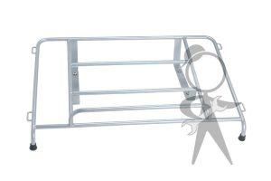 Luggage Rack, Rear Deck, Silver Powdercoat - 141-008-201 SL