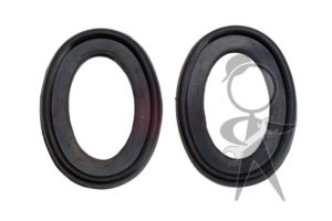 Bumper Bow to Blade Gasket, Rear, Pair - 141-707-387 PR