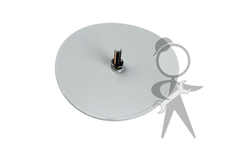 Karmann Ghia Torsion Bar Inspection Cover, Outer