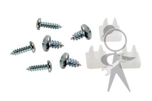 Rivet/Screw 9pc Set, Rear Deck Drain Tray - 141-827-081 ST