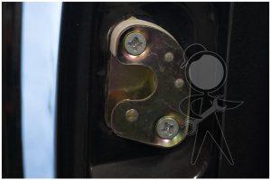 Striker Plate, Door, Right - 141-837-296 C