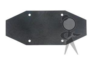 Rubber Insert, Door Glass Lift Channel - 141-837-565 A