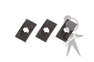 Dash Script Clamping Plate, 3 pcs - 141-853-913 ST