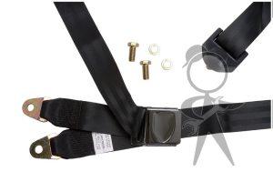 Seat Belt w/Shldr Strap, VW Style, Left - 141-857-703