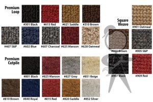 Carpet, Black Pile, Convertible - 141-862-801 D