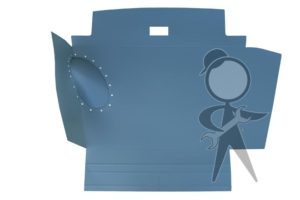 Trunk Liner, Pressboard, Show Quality - 141-863-509 E SQ