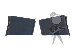 Hinge Cover, CV Top, Black, Pair - 141-867-305 B PR