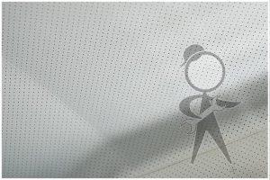 CV Headliner, Perf Vinyl Off White - 141-871-047 B WH