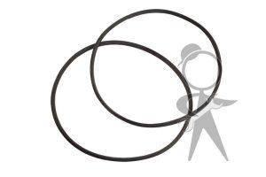 Headlight Ring Rubber Seal, Pair - 141-941-191 PR