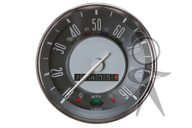 vintage volkswagen vw parts karmann ghia speedometer  fits   airhead vw parts