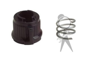 Cap & Spring (w/o Speedometer Cable) - 141-957-805