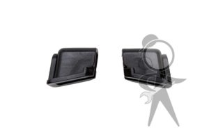 Rubber Stop, Top of Door Window (Pair) - 151-837-407 PR