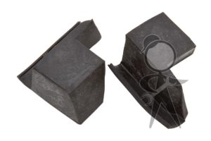 Rubber Wedge, Rear of Qtr Wdw, Pair - 151-847-357 PR