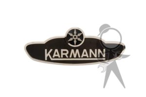 "Body Badge, ""Karmann"" - 151-853-901 GR"