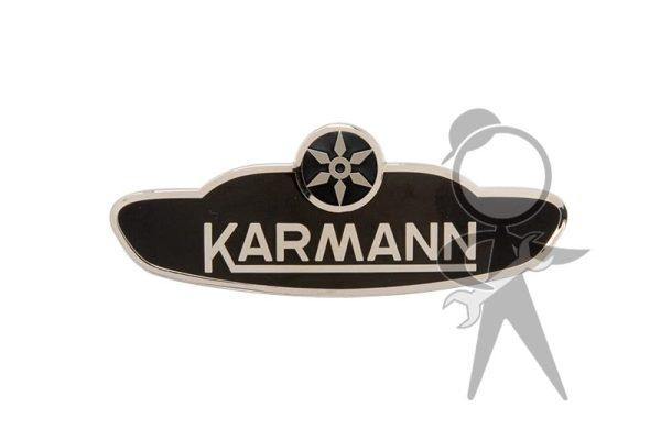 "Body Badge, ""Karmann"" - 151-853-901 GR"