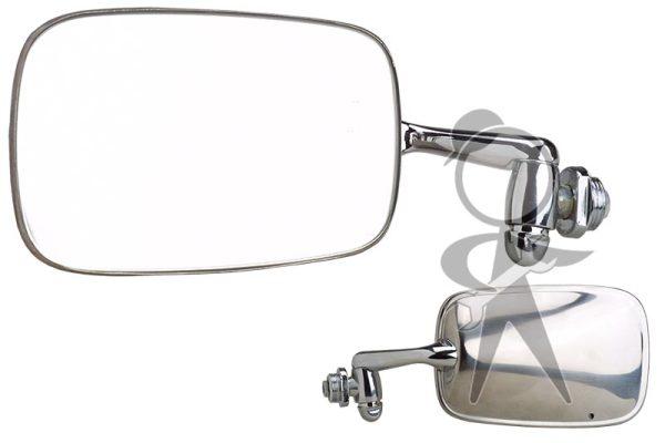 Mirror, Side View, Left, OEM - 151-857-501 OE
