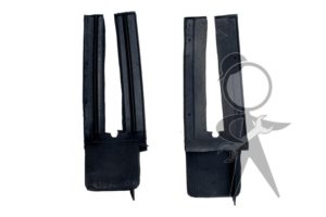Rubber Wedge, Front of Door, Pair - 151-898-493 PR