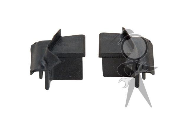 Rubber Wedge, Rear of Door, Pair - 151-898-497 A PR