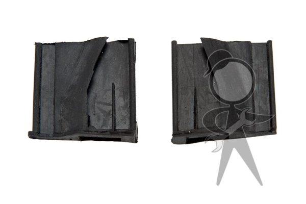 Rubber Wedge, Rear of Door, Pair - 151-898-497 PR