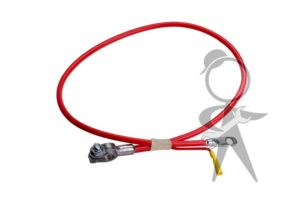 "Battery Cable to Starter, 38"" - 151-971-228 B"