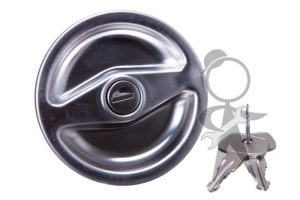 Gas Cap, Locking w/Key - 211-201-551 R
