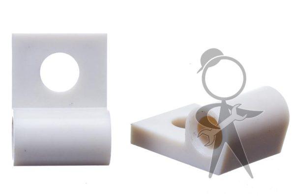 Hinge, Front Vent Flap, Plastic - 211-259-159
