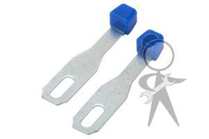Lever, Heater Control w/Red Knob, Pair - 211-259-365 PR