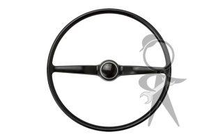 Steering Wheel, Complete, Black - 211-498-651 D BK
