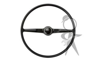 Steering Wheel, Complete, Black - 211-498-651 G BK