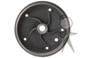 Brake Drum, Rear - 211-501-615 G