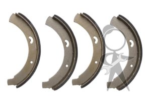 Brake Shoes, Front Left & Right - 211-609-237 B ST