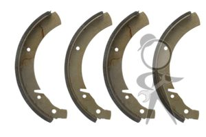 Brake Shoes, Rear Left & Right - 211-609-537 B ST
